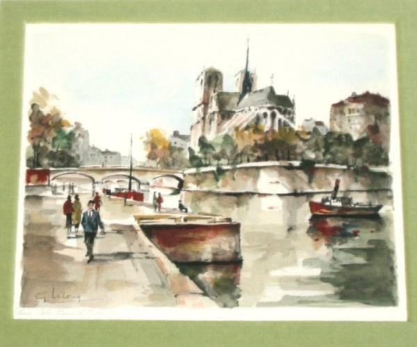G. Lelong (American, 20th Century), Paris