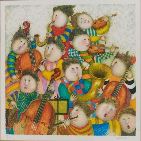 Graciela Rodo Boulanger (b. 1935), Musicians