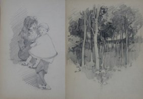 Robert Hope (1869-1936), Sketchbook