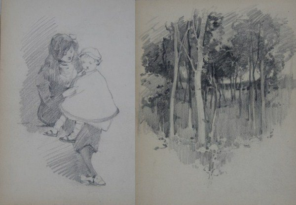 Robert Hope (1869-1936), Sketchbook