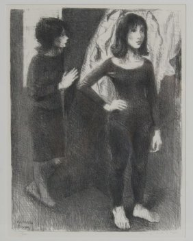 Raphael Soyer (1899-1997), Two Women