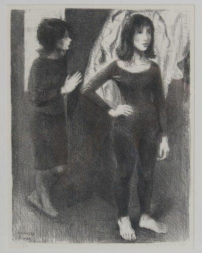 Raphael Soyer (1899-1997), Two Women