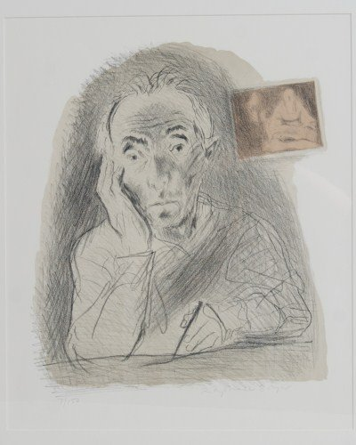 Raphael Soyer (1899-1997), Self-portrait