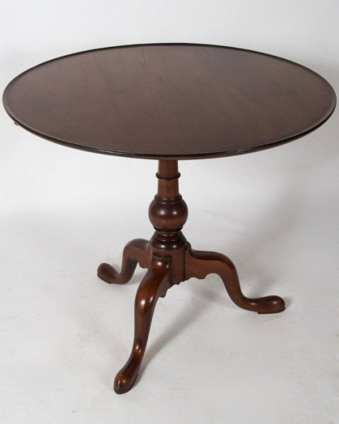 Chippendale Mahogany Tea Table, Late 18th C.