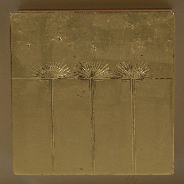 "Philip Aziz (1923-2009), ""Three Dandelions"""