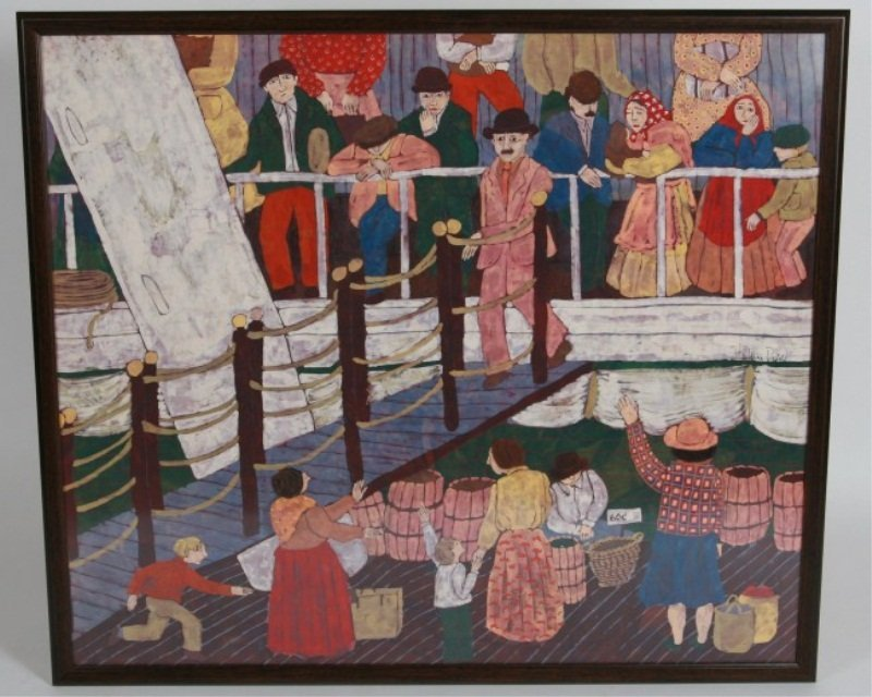 Marlaine Deppe (20th C.), Immigrants