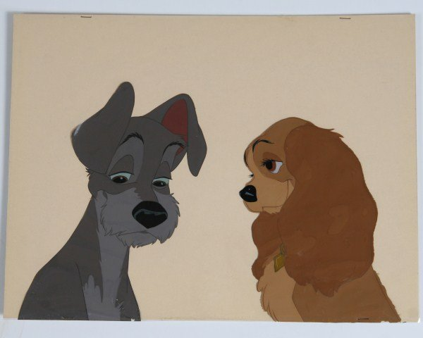 Walt Disney Lady and the Tramp Celluloid