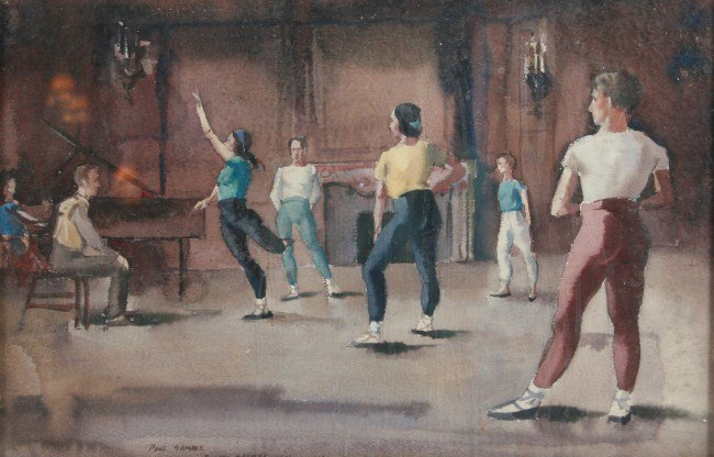 "Paul Starrett Sample (1896-1974), ""Rehearsal"""