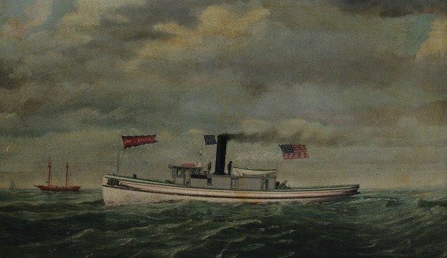 """Seth Arca Whipple (1855-1901), """"Jos. L. Miner"""""""