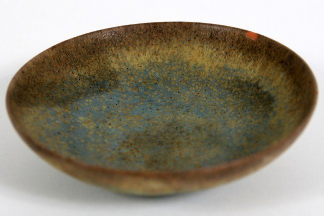 Gertrud and Otto Natzler Pottery Dish