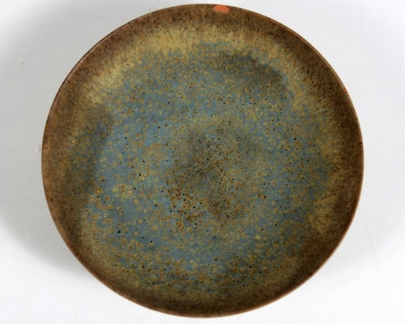 Gertrud and Otto Natzler Pottery Dish - 2