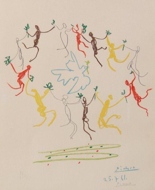 """Pablo Picasso (1881-1973), """"Dove of Peace..."""""""