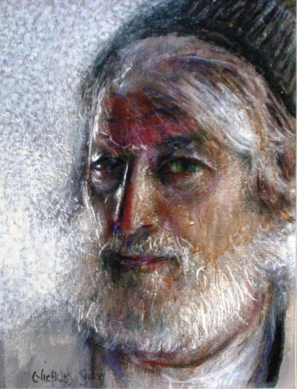 Nicholas Snow (20th C.), Self Portrait