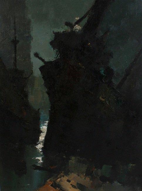 Dorval Pereira (1924-1995), Abstract Ship