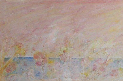 Dominic Pangborn (b. 1952), Pastel Abstract