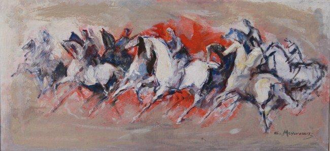 William Meyerowitz  (1887-1981), Riding Scene
