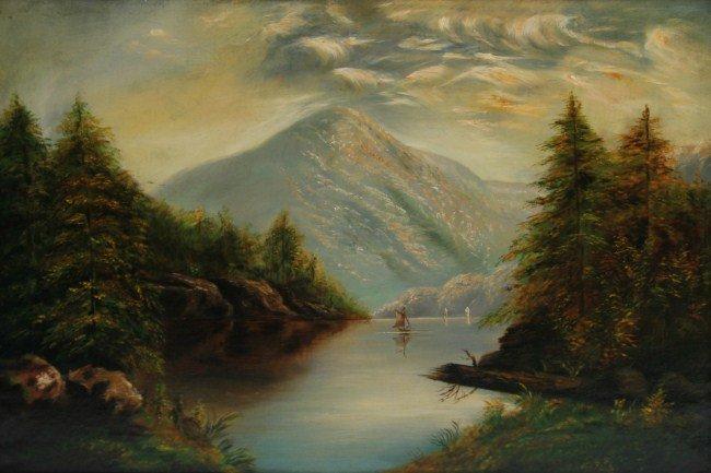 Unknown Artist (19th or 20th C.), Landscape
