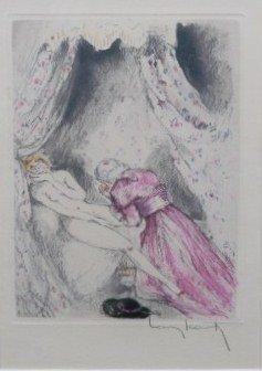 """Louis Icart (1888-1950), """"On Bended Knee"""""""