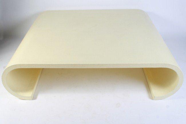 springer waterfall coffee table