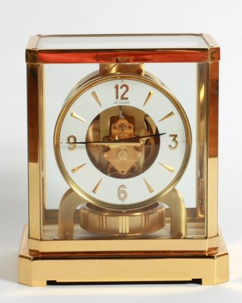 Le Coultre Brass Atmos Clock, Swiss, 20th C.