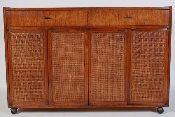 Founders Furniture Mid-Century Walnut Credenza