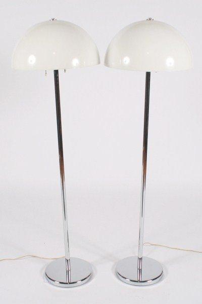 Pair Nessen Studio Floor Lamps
