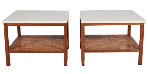 Pair of Paul McCobb for Calvin End Tables