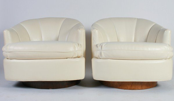 Attrib. Milo Baughman for Thayer Coggin Tub Chairs