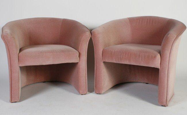 Thayer Coggin Chairs, Attrib. To Milo Baughman