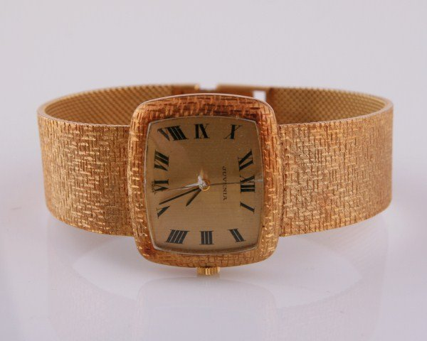 Juvenia 18K Gold Men's Watch