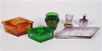 Assorted Lot of Moser Art Glass