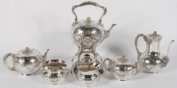 Tiffany & Co. Sterling Silver Tea and Coffee Set