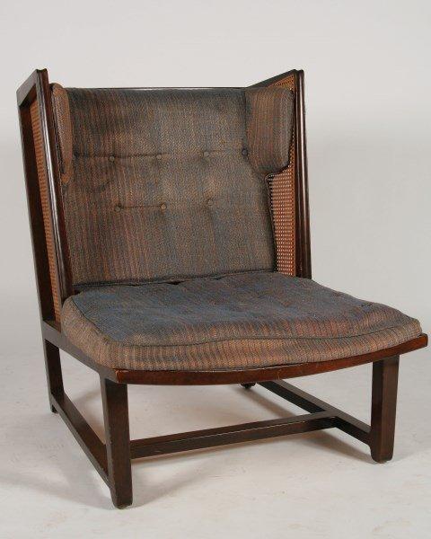 Edward Wormley Wingback Lounge Chair, Model 6016