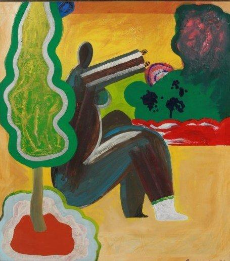 Guillaume Lo-A-Njoe (B. 1937), Untitled