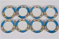 Group of 7 Sèvres Style Porcelain Plates