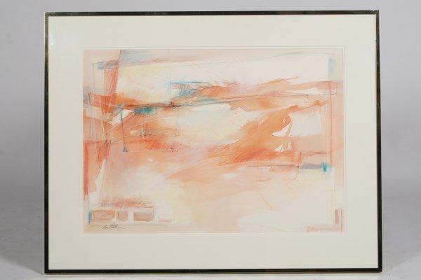 "Eva Carter (20th C.), ""Road Signs-Highway Series"""