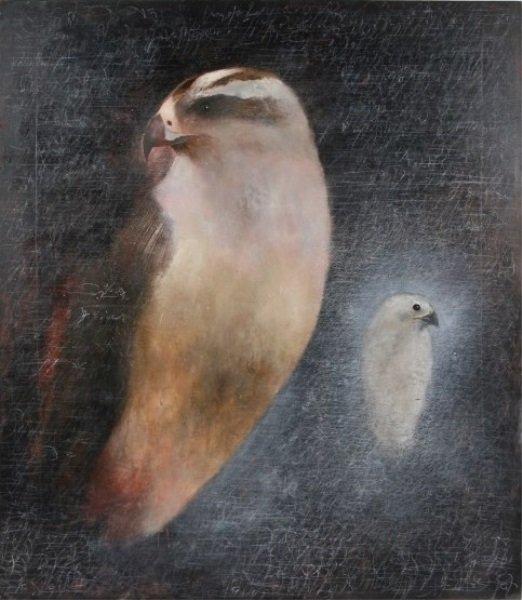 """Cindy Kane (B. 1957), """"Duo"""""""