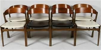 Set of 8 Kai Kristiansen Dining Chairs