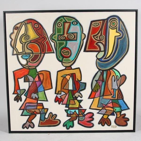 Rodney Denne (B. 1971), Untitled
