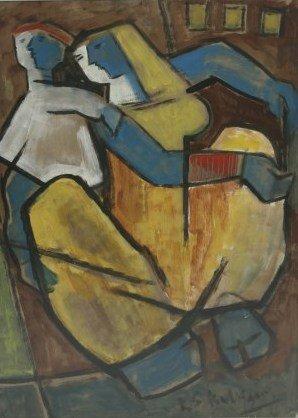 Krishnaji S. Kulkarni (1916-1994), Untitled