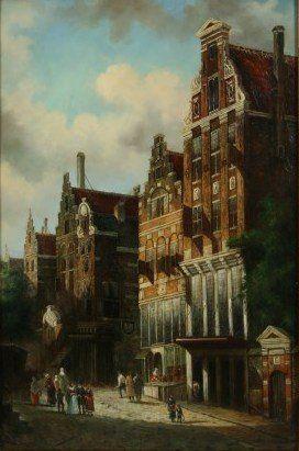 Artist Unknown, City Scene