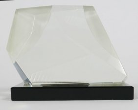 Harvey K. Littleton (1922-2013), Glass Sculpture