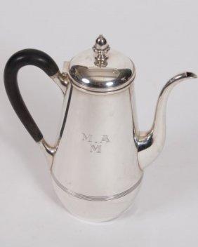 Graff, Washbourne & Dunn Sterling Coffee Pot