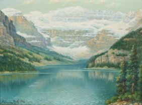 "Andreas Roth (1871-1949) ""lake Louise"""