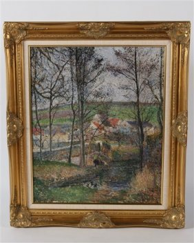 Reproduction Print After Camille Pissaro