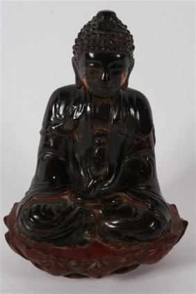 Seated Amithaba Buddha Statue