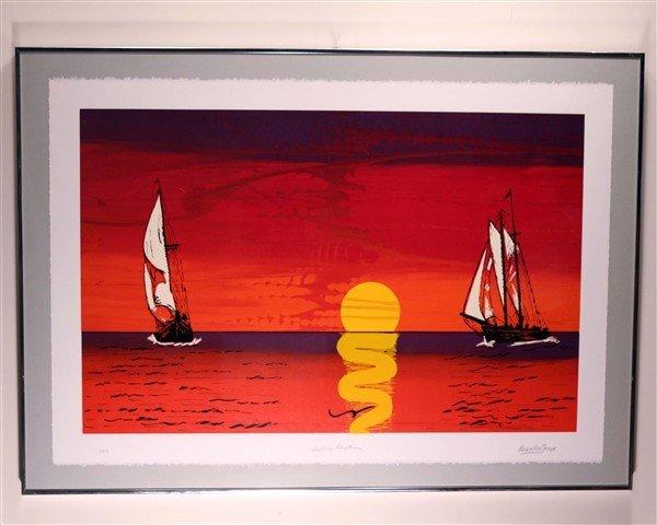 """Max Shaye (1910 - 2004), """"Sailing Rhythm"""""""