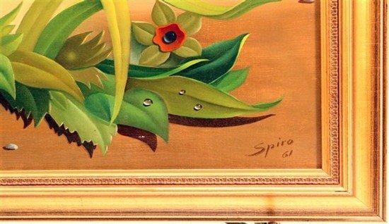 """Georges Spiro (1909-1994) """"Femme Regardant..."""" - 2"""