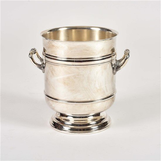 Christofle Silver Plate Champagne Cooler Bucket