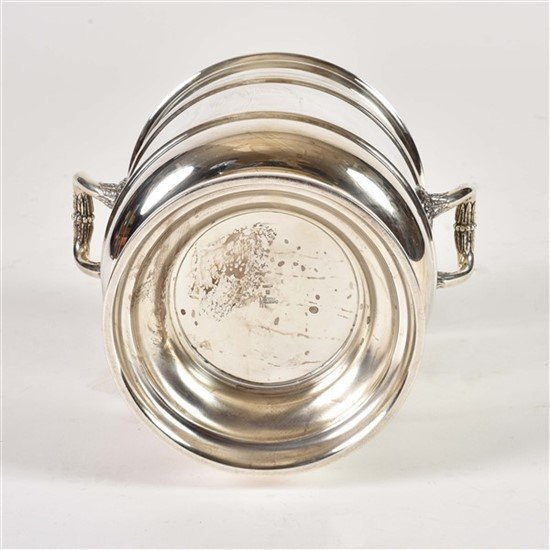 Christofle Silver Plate Champagne Cooler Bucket - 2